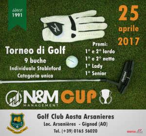 N&M CUP @ Golf Club Aosta Arsanieres | Gignod | Valle d'Aosta | Italia