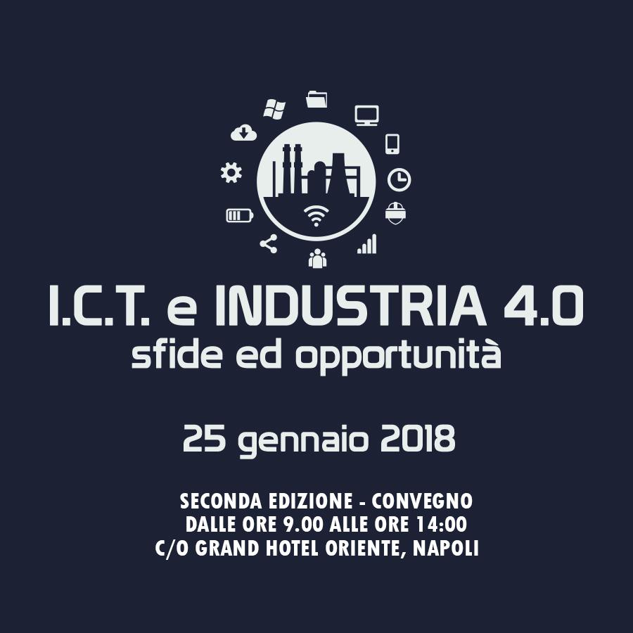 Napoli – I.C.T. e Industria 4.0 – Sfide ed Opportunità